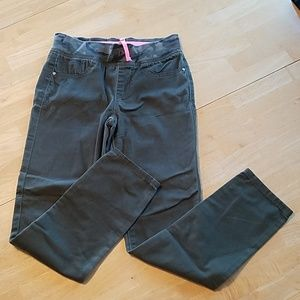 Thin pants with elastic waistband size 14 youth